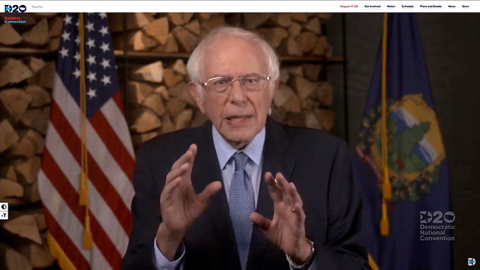Bernie Sanders DNC: A Fight for Democracy