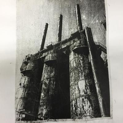 Monoprint Bethlehem #2