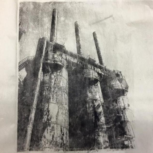 Monoprint Bethlehem #1