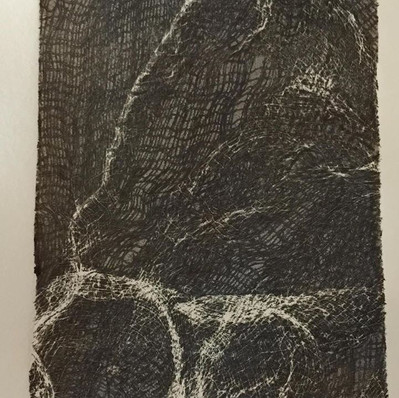 Monoprint: Gauze #2