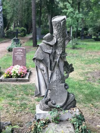 Dresden 墓園參訪