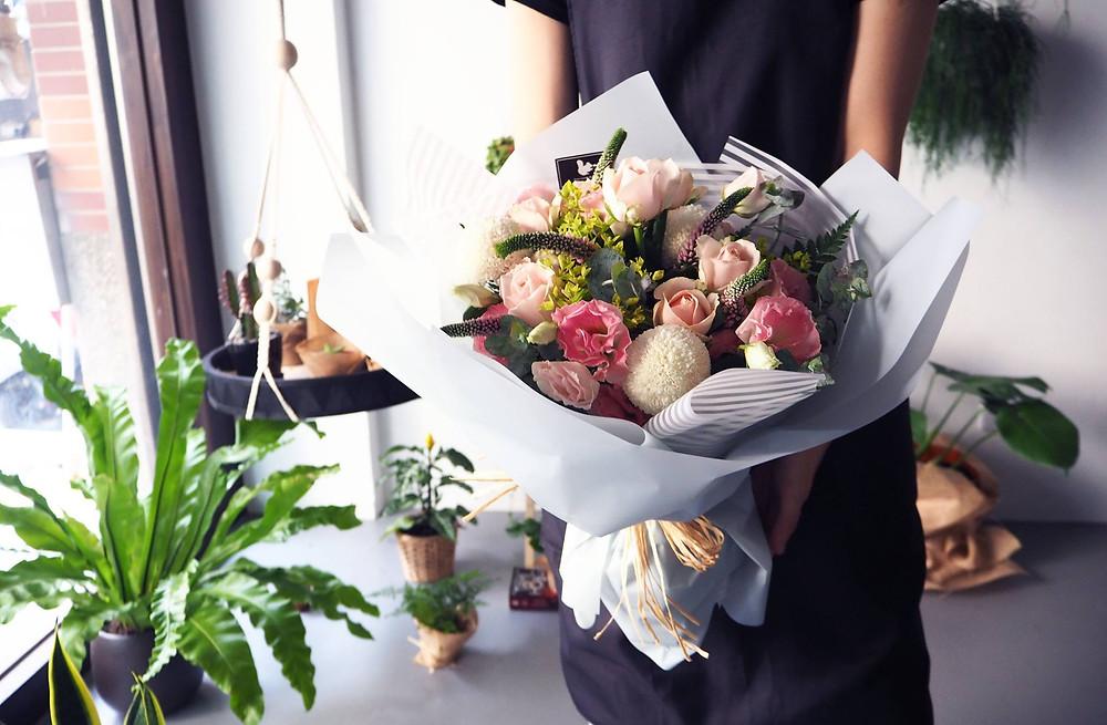 新竹畢業季花束