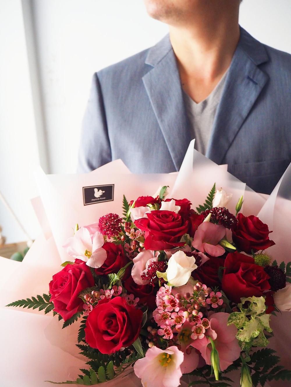 新竹鮮花求婚花束