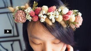 乾燥花冠、手腕花