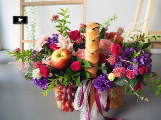 水果花籃 生產賀禮