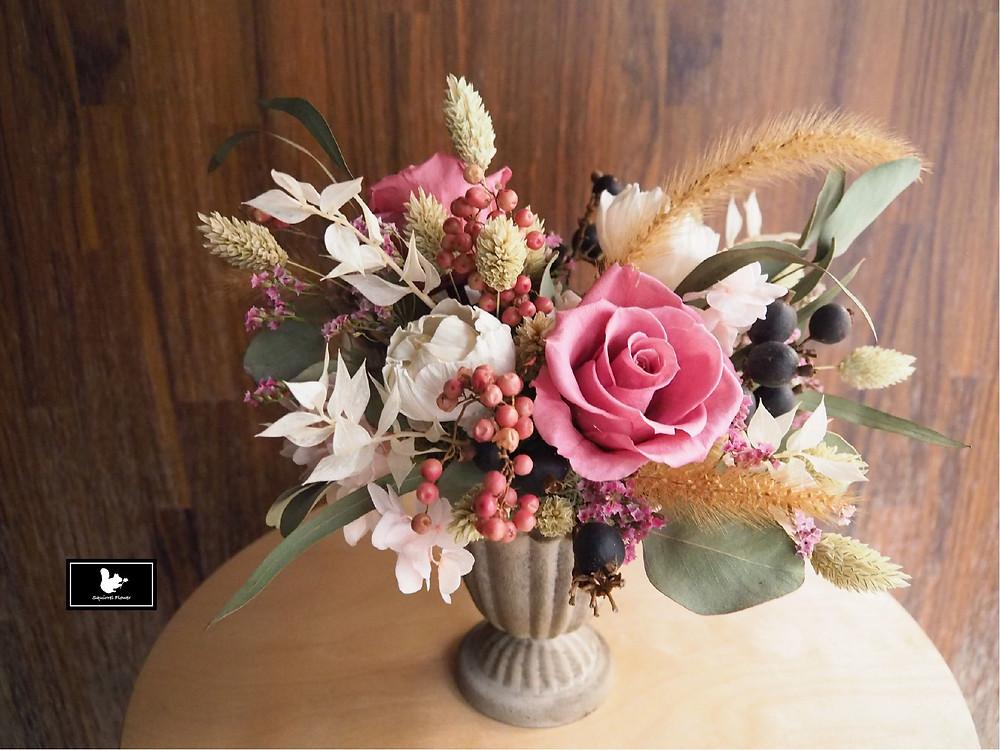 歐式乾燥不凋小盆花