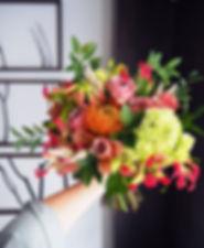 新娘捧花,胸花,主桌花