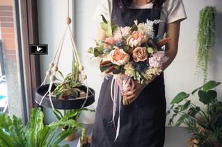 新竹乾燥新娘捧花