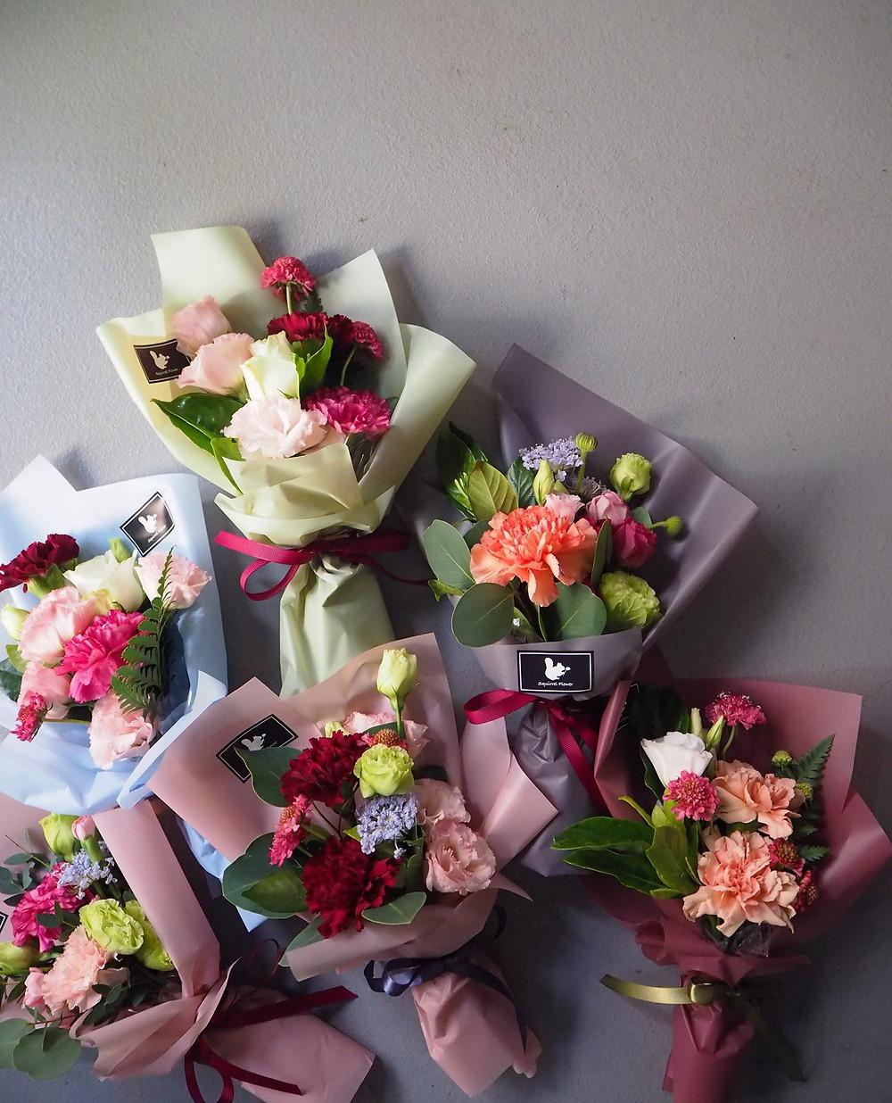 母親節花束;康乃馨;小盆花