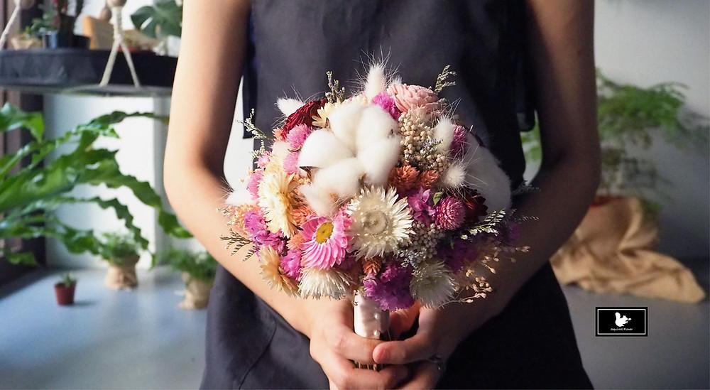 乾燥花捧花