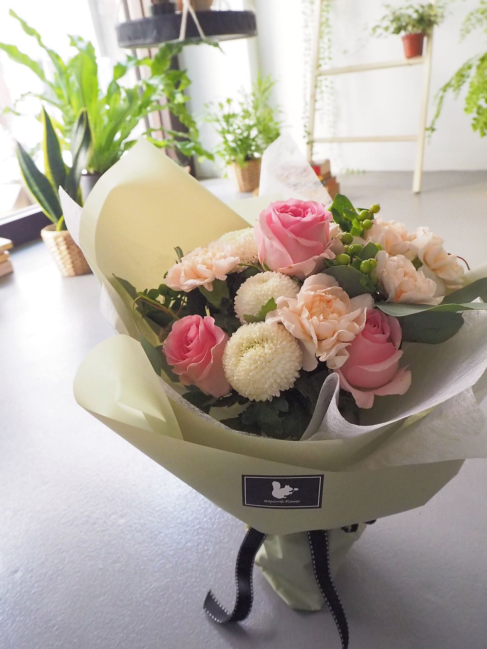 新竹康乃馨花束