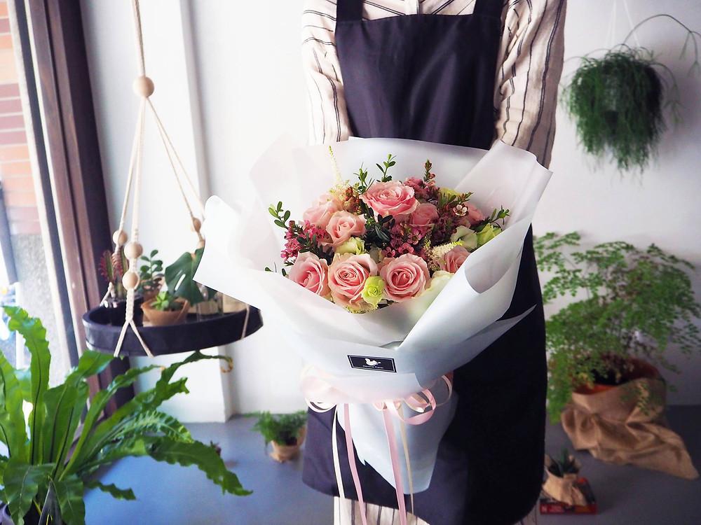 新竹竹北求婚花束