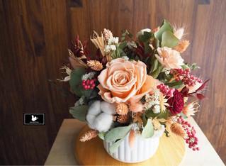 客製乾燥花