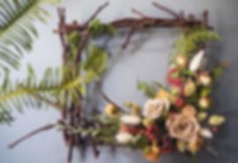 乾燥花框,乾燥花圈,乾燥花