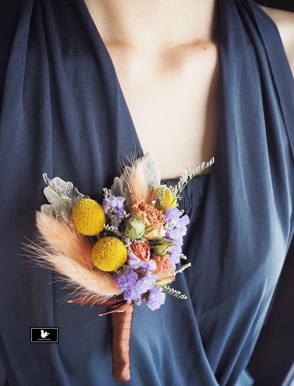 乾燥花胸花