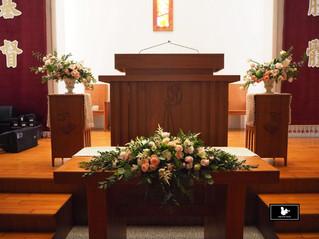 歐式婚禮桌花擺設