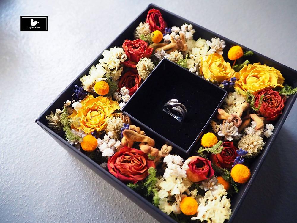 求婚乾燥花禮盒
