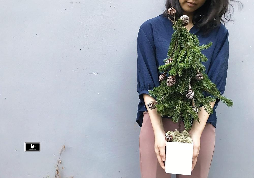 新竹花藝課程;聖誕樹