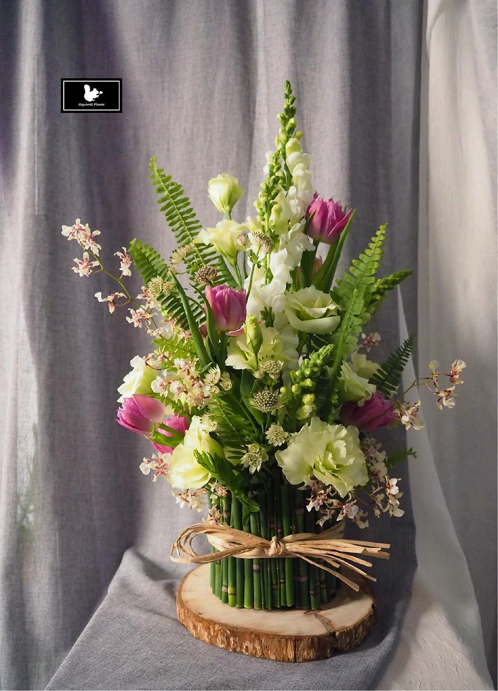 鬱金香桌花
