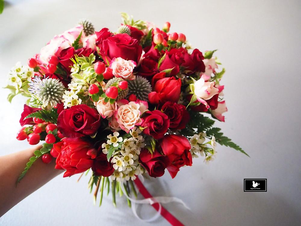 迷你玫瑰花束