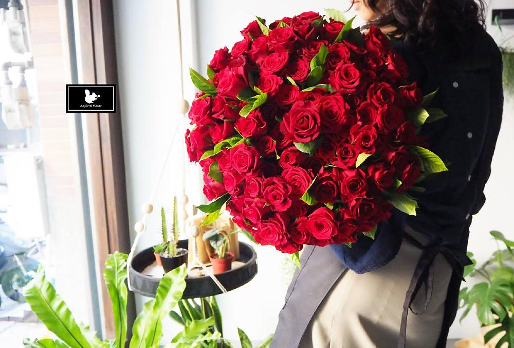 新竹求婚花束;玫瑰花束;99玫瑰