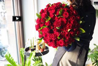 99朵玫瑰花束