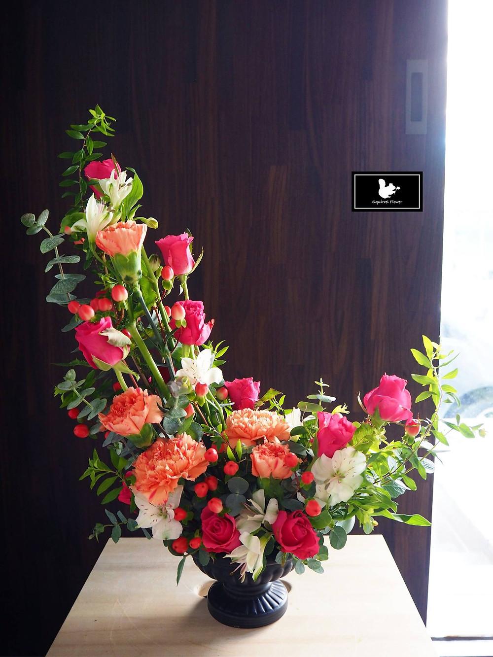 鮮花盆花;上月眉