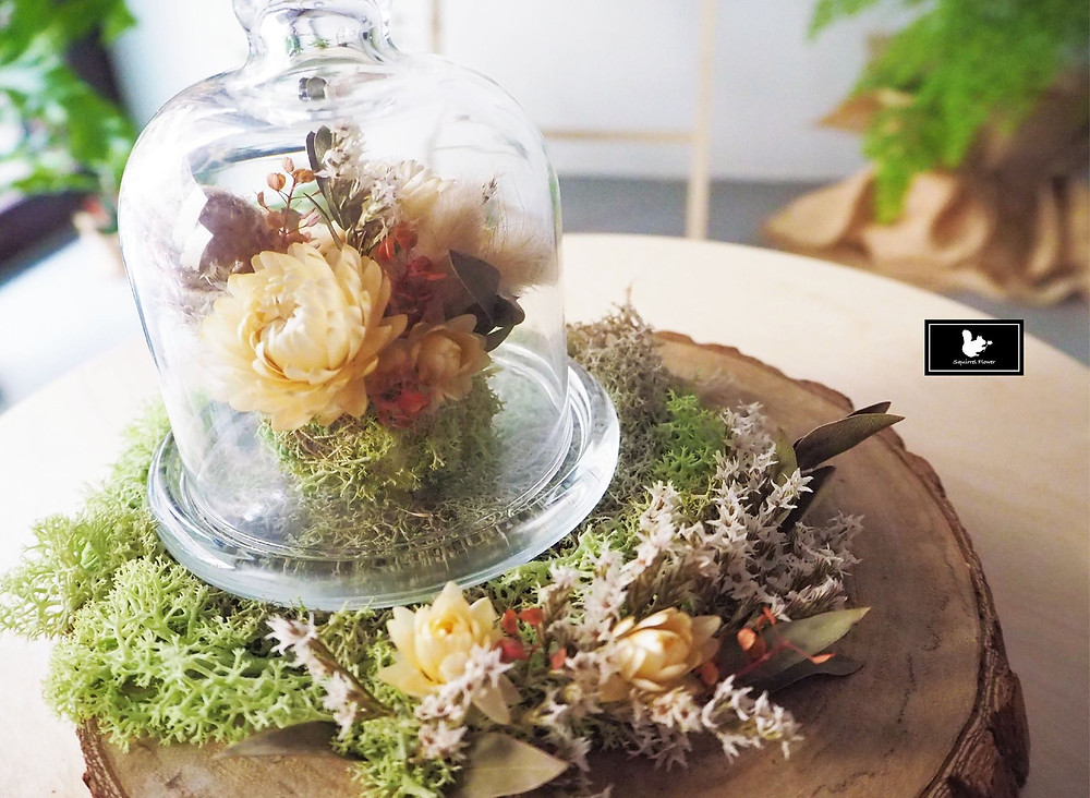 乾燥花花盅
