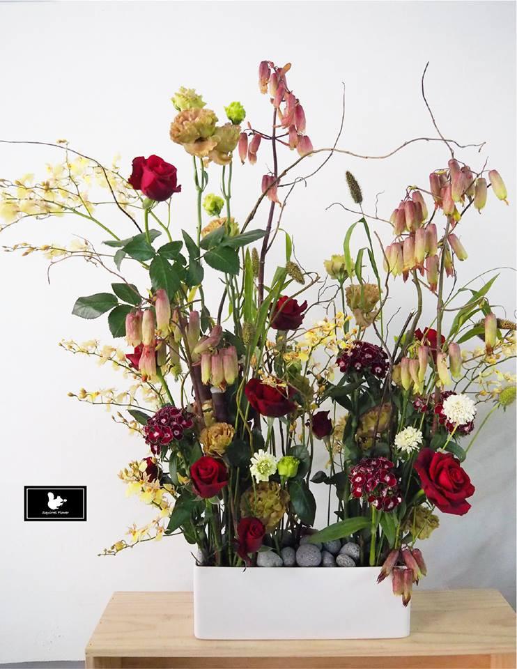 野趣 多個生長點設計盆花