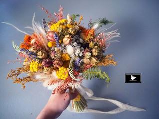 乾燥捧花、胸花