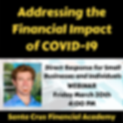 Addressing the Financial Impact of COVID