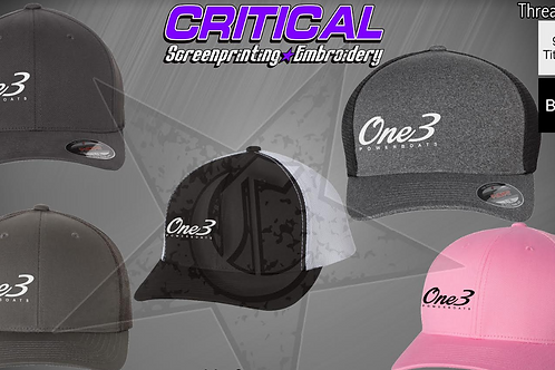 One3 Performance Hats