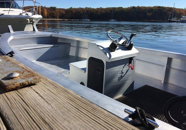 Aluminum Work Boat