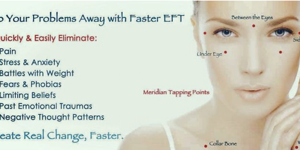 """""""Tap, Tap, Tap your way to wellness""""-EFT & Healing Yoga"""