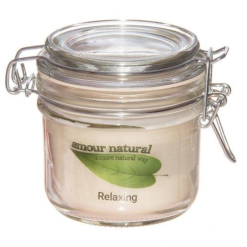 Relaxing (Lavender, Geranium, Ylang Ylang) Candle, 200ml Clip Jar