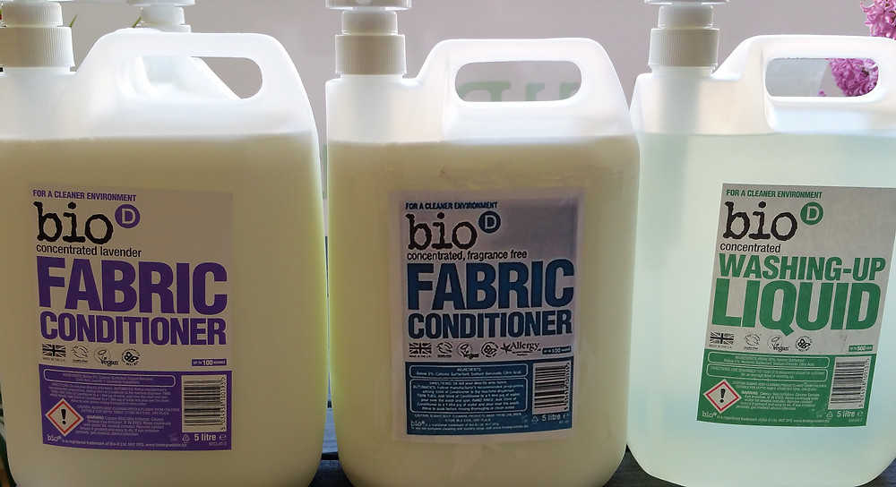 Washing up Liquid and Fabric Conditioner
