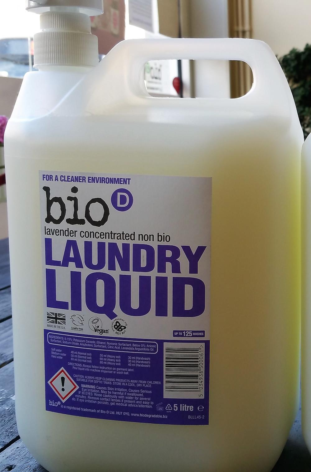 Lavender Laundry Liquid