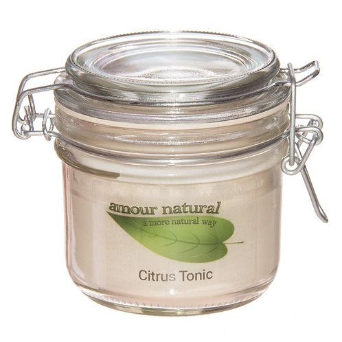 Citrus Tonic Candle, 200ml Clip Jar