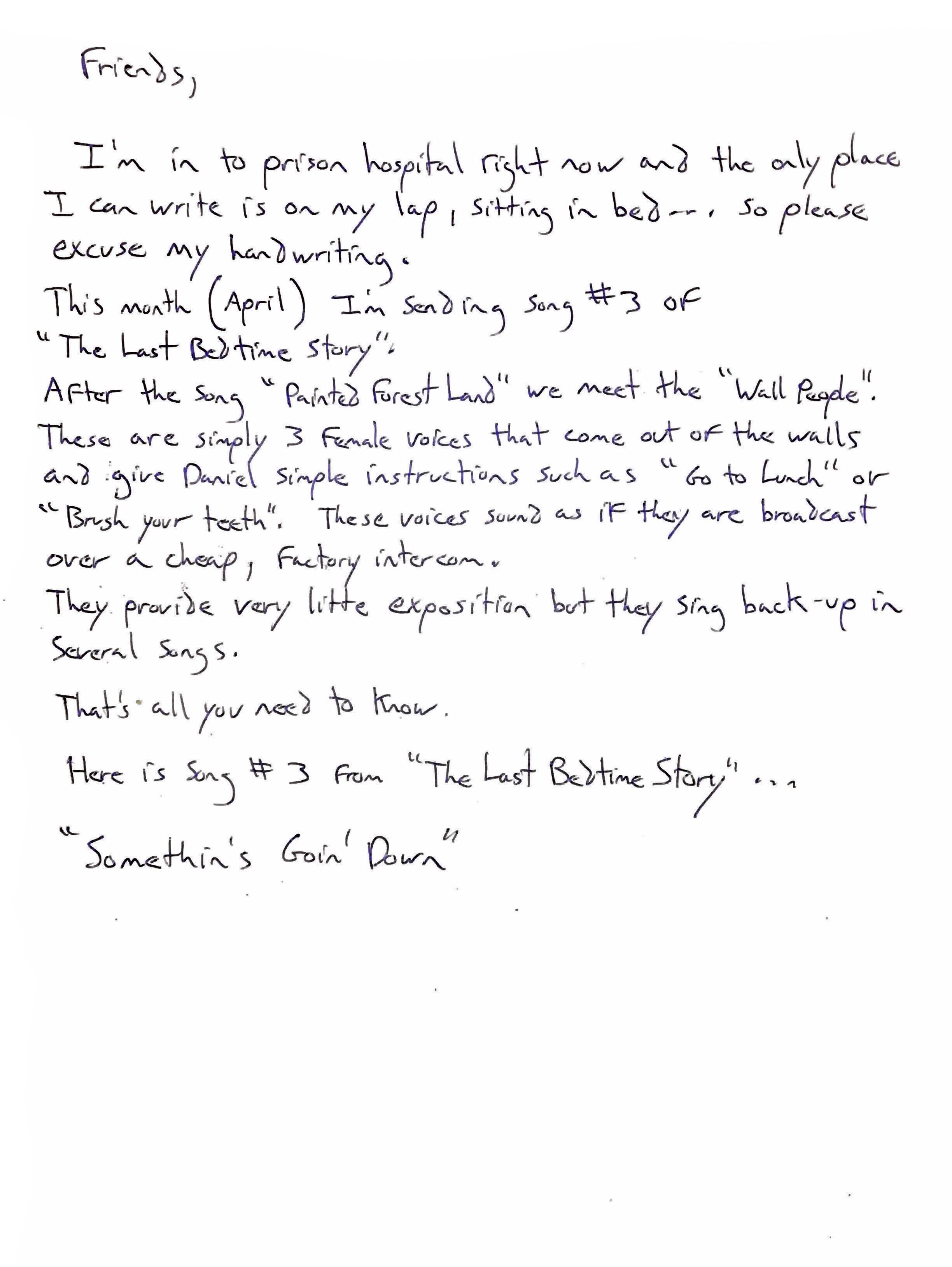 Jimmy's Letter - April 4, 2019