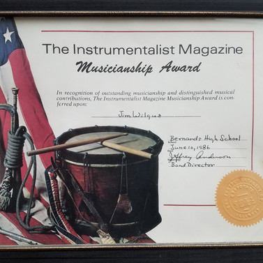 Musicianship Award