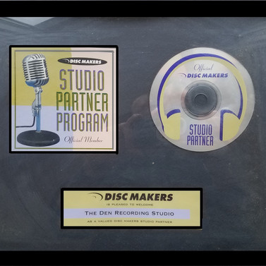 Disc Makers Award