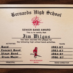 Senior Band Award