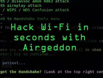 Hack Wireless Network using Airgeddon