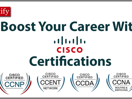 Price Dropped: Cisco Certification Courses 2019