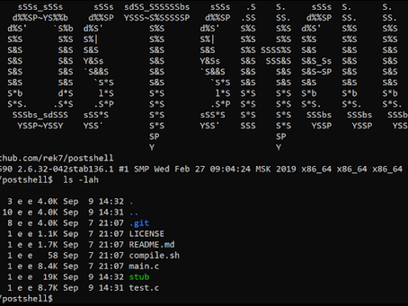 PostShell - Post Exploitation Bind/Backconnect Shell