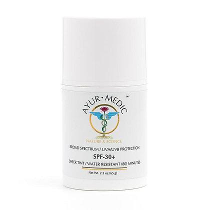 Ayur-Medic SPF 30+ Sheer-Tinted Sunscreen