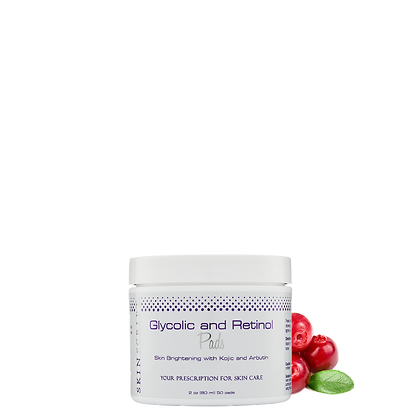 Glycolic and Retinol Pads 2 pack
