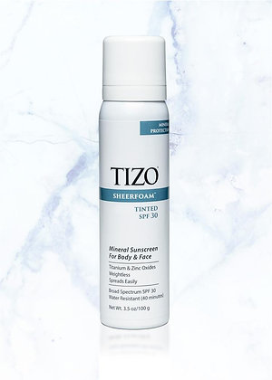 TIZO SheerFoam Body & Face Tinted SPF 30