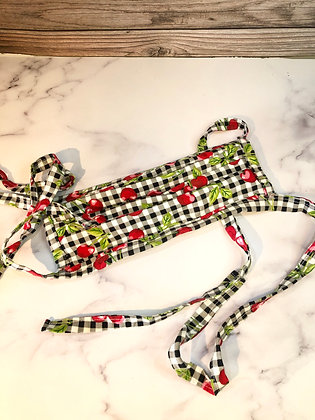 Tie Back Hand Sewn Mask