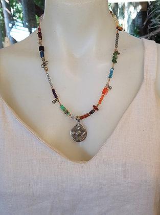 Vintage style Semi Precious stones Necklace